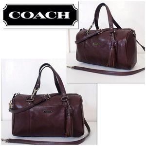 Coach Avery Pebble Leather Convertible Satchel